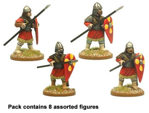 Byzantine Skutatoi advancing - Lammelar Armour