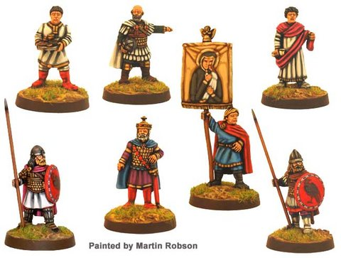 Byzantine Emperor and Retinue