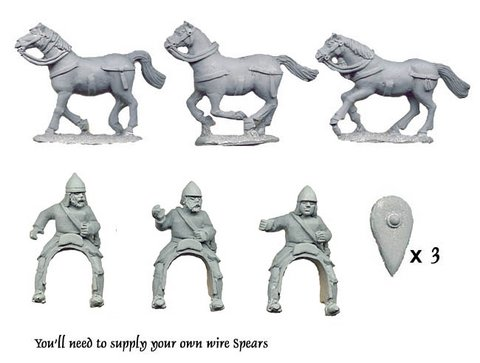 Byzantine Light Cavalry with Spears