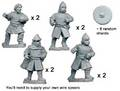 Photo of Unarmoured Spanish Spearmen (8) (DAE002)