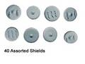 Photo of Spanish Round Shields (approx 40 per pack) (DAE100)