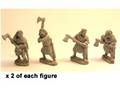 Photo of Irish Noble Warriors with 2 handed axes (DAI007)