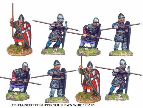 Norman Spearmen in Chainmail I