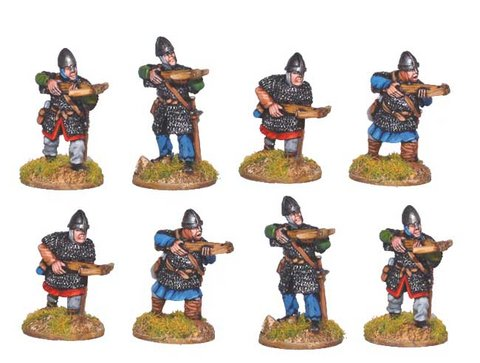 Norman Crossbowmen in Chainmail
