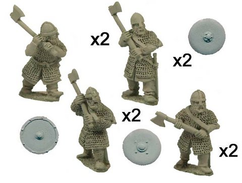 Saxon Huscarls with Axes