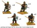 Photo of Saxon Thegns with Spears (DAS007)
