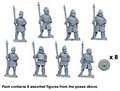 Photo of Saxon Warriors with Spears Upright (DAS009)