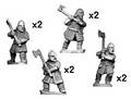Photo of Hirdmen with 2 handed axes (DAV007)