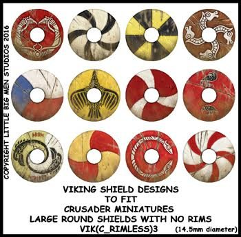 Viking Shield Transfers 3