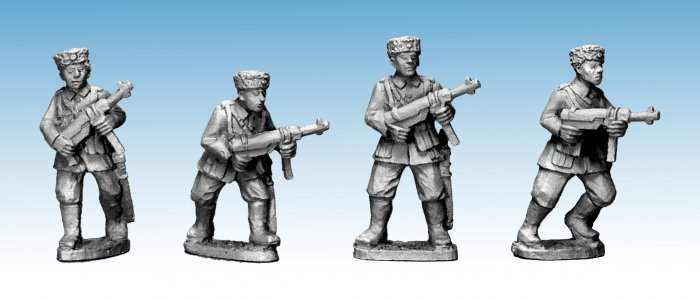 Cossacks with SMG (German Service)