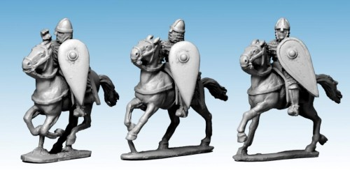 Norman Knights in Scale with Spears