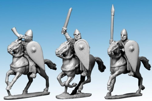Norman Cavalry Command in Chainmail