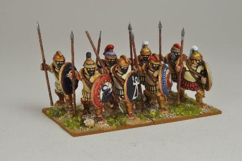 Infantería libio-fenicia de Crusader Miniatures