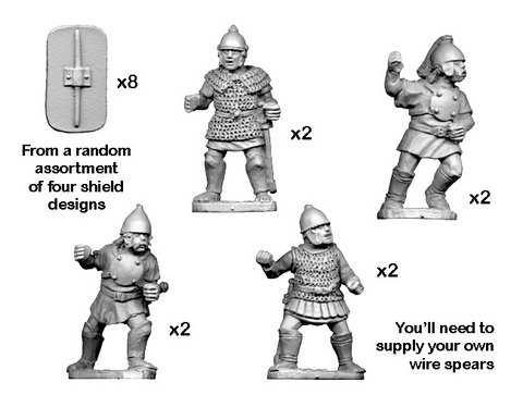 Celtiberian warriors with spear