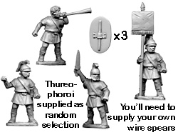 Greek Thureophoroi Command