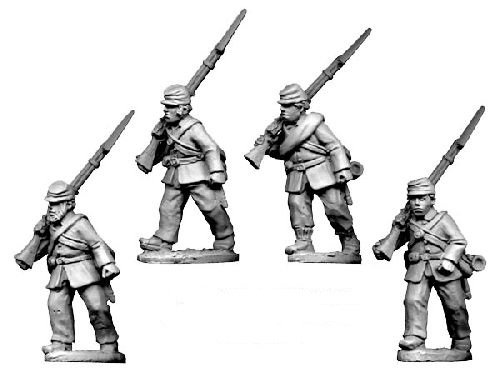 ACW Infantry in Jacket and Kepi