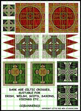Dark Age Cross Banners
