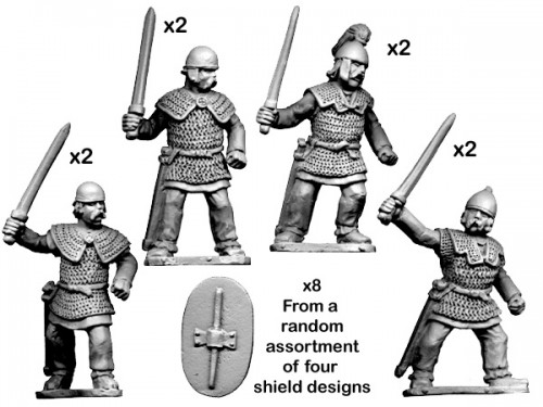 Ancient Celtic Noble Warriors
