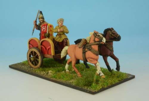 Armoured Noble in Chariot I