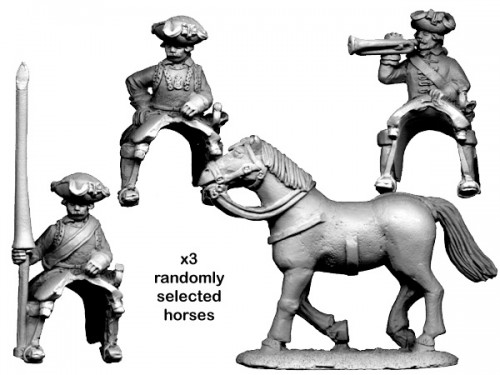 SYW Russian Cuirassier Command.