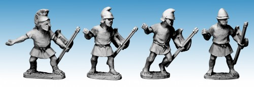 Macedonian Unarmoured Peltasts