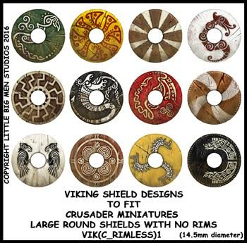 Viking Shield Transfers 1