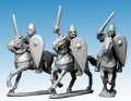 Photo of Norman Knights in Chainmail with Swords (DAN104)