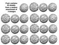 Photo of Embossed Macedonian Phalangite Shields (RFA017)