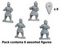 Photo of Byzantine Unarmoured Spearmen (DAB011)