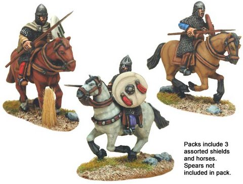 Spanish Knights in Mail with Spears