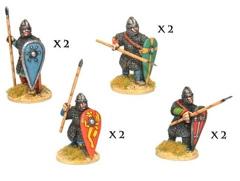Norman Spearmen in Chainmail II