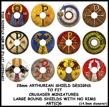 Sub Roman Shield Transfers (Round3)