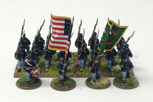 The Fighting 69th. (plus flags)