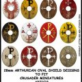 Photo of Sub Roman Shield Transfers (Oval 3) (ARTC3)